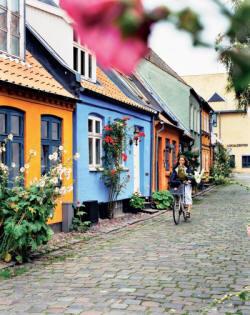 Møllestien lane Aarhus, (C) Deensverkeersbureau, Ditte Isager