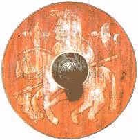een vikingschild
